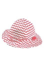 Archimede Red-White 'Julie' Hat - Front cropped