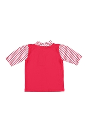 Archimede Red & White Top - Front full body