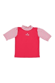 Archimede Red & White Top - Front cropped