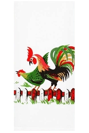Red and White Kitchen Co. Henpecked Kitchen Towel - Product Mini Image