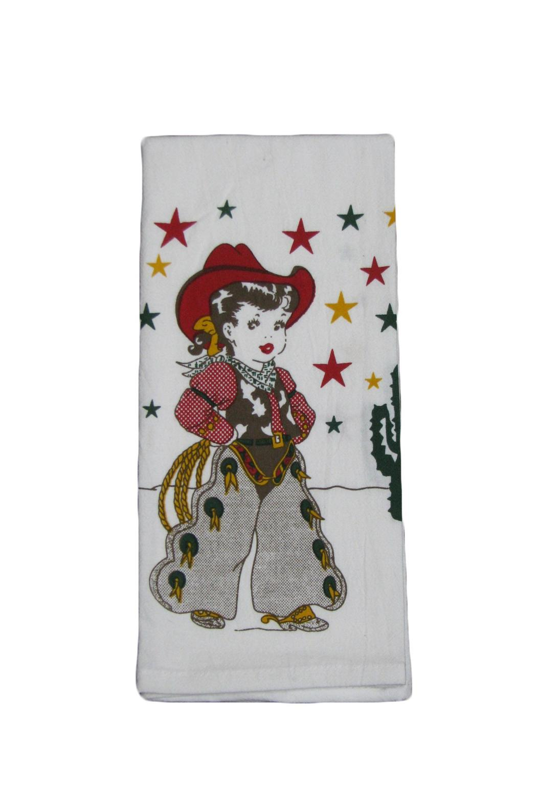 Red And White Kitchen Co Retro Kitchen Towel From Colorado By The