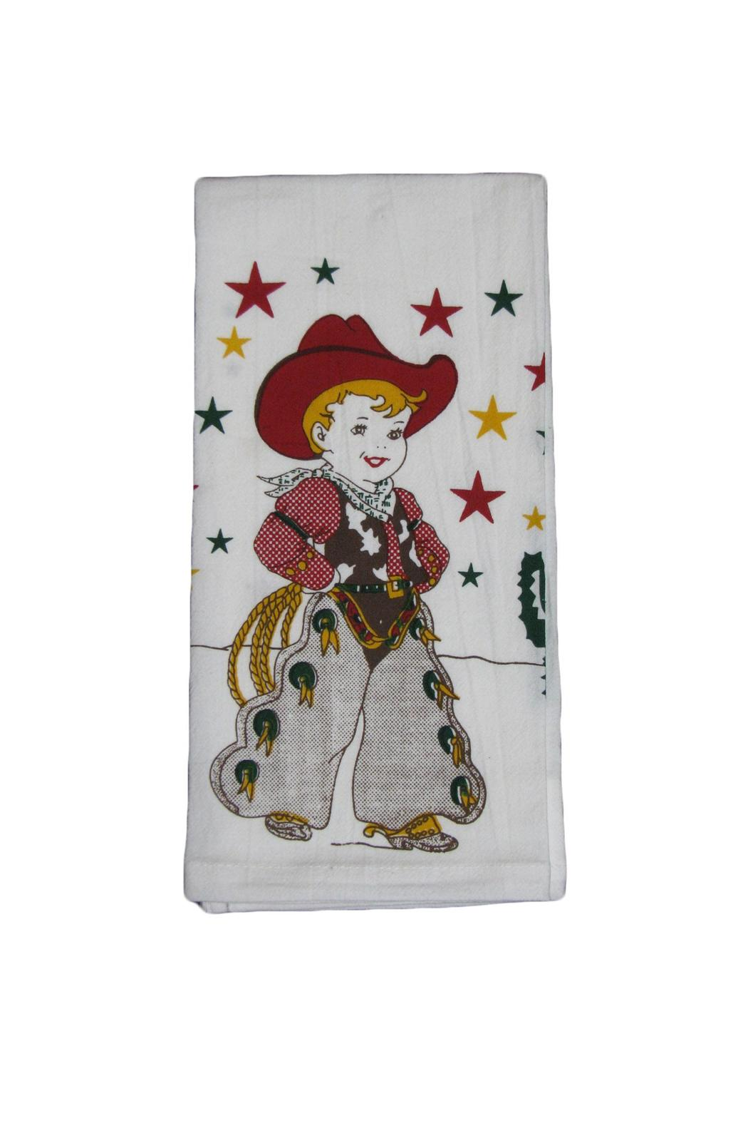 Red And White Kitchen Co Retro Kitchen Towel From