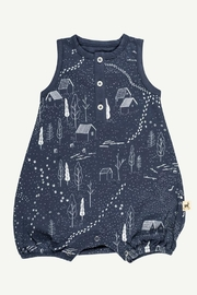 RED CARIBOU Ducks & Tracks Romper - Product Mini Image