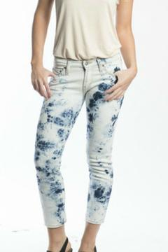 Shoptiques Product: Tie-Dye Skinny Ankle