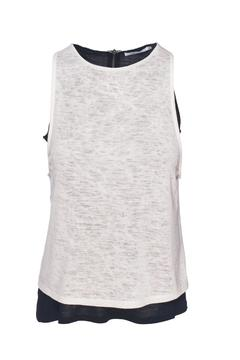 Shoptiques Product: Layered Button Tank