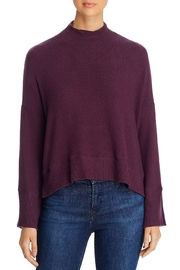 Red Haute Mock Neck Sweather - Front cropped