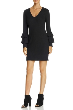 Shoptiques Product: Tiered-Ruffle Sleeve Dress
