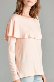 Red Lolly Cape Top - Side cropped