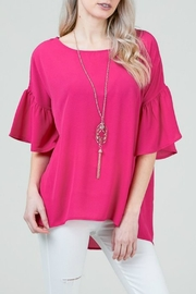 Red Lolly Mia Pink Blouse - Product Mini Image