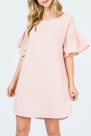 Red Lolly Rach Blush Dress - Product Mini Image