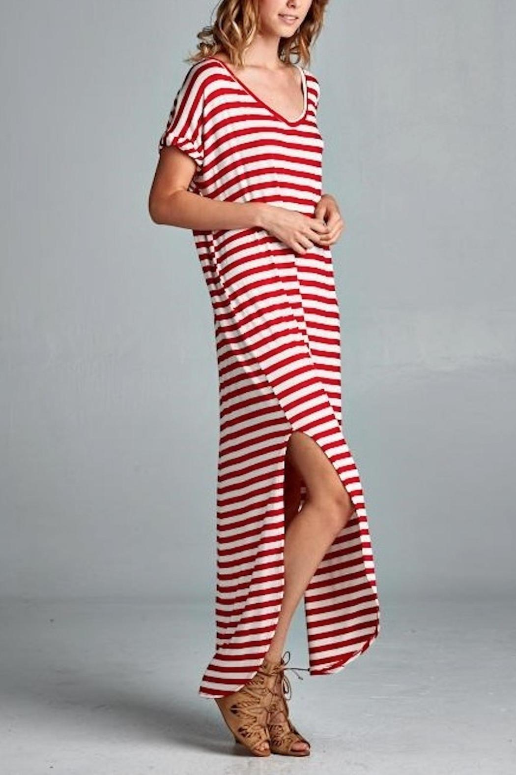 Red Lolly Red Stripe Dress from Arkansas by Shop Persnickety ...