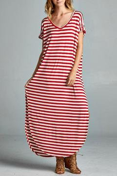 Red Lolly Stripe Maxi - Product List Image