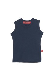 Redfish Kids Clothing Crew Tank Navy - Product Mini Image