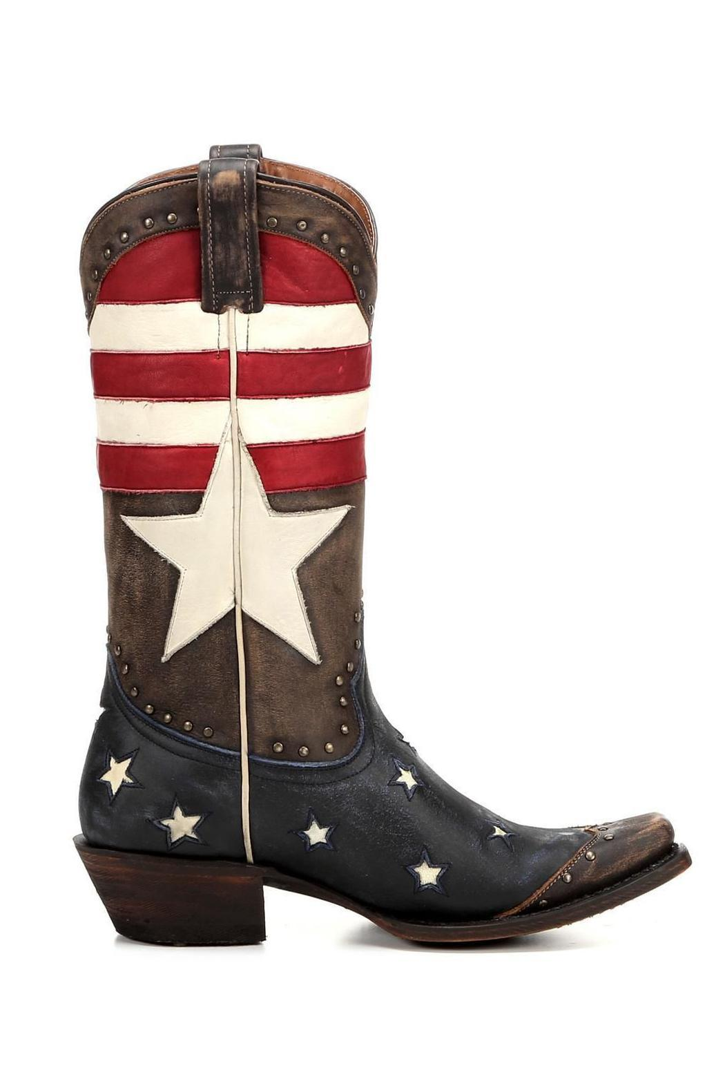 Redneck Riviera Freedom Western Boot - Front Full Image