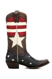 Redneck Riviera Freedom Western Boot - Front full body