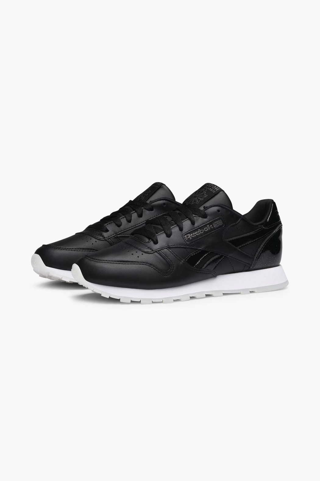 Reebok Classic Leather Sneakers - Back Cropped Image