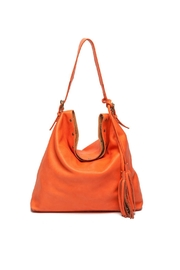 Laggo Reed Hobo Bag - Front cropped