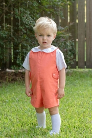 James & Lottie Reed Jon-Jon Burnt-Orange - Front cropped