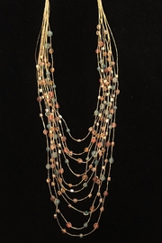 Marquet Reena Crystal Necklace - Front cropped