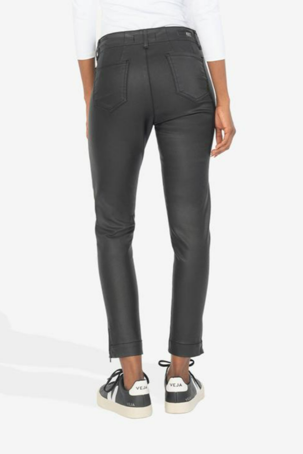 KUT Reese Ankle Straight - Side Cropped Image