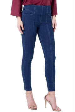 Shoptiques Product: Reese Cat-Eye Skinny Jeans