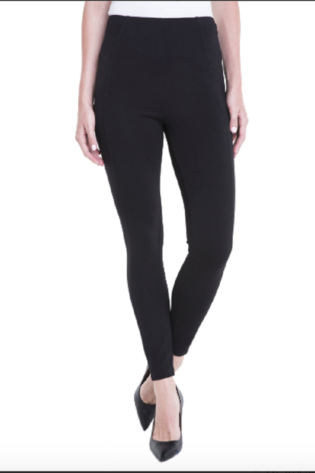 Liverpool Reese Legging, Black - Front Cropped Image