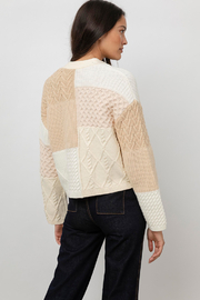 Rails Clothing Reese Patchwork Cable Cardigan - Other