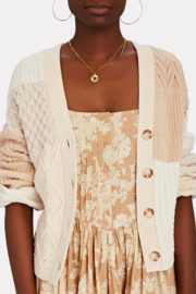 Rails Reese Patchwork Cable Sweater - Product Mini Image