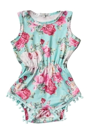 Bailey's Blossoms Reese Romper - Front cropped
