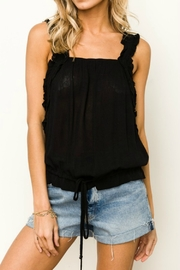 Hem & Thread Reese Ruffle Tank - Front full body