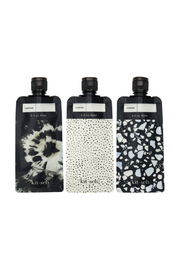 Kitsch REFILLABLE TRAVEL POUCHES-3PC - Product Mini Image
