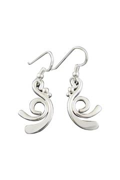 Shoptiques Product: Daffy Silver Earrings
