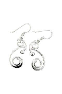 Shoptiques Product: Dew Silver Earrings