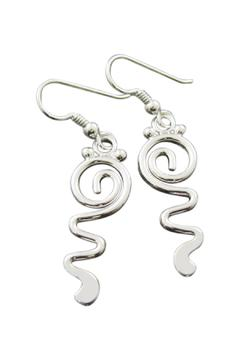 Shoptiques Product: Dixon Silver Earrings