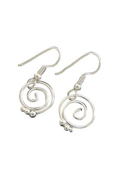 Shoptiques Product: Owen Silver Earrings