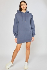 Reflex Oversized Tunic Hoodie - Front full body