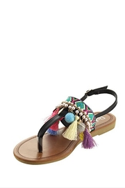 Refresh Bohemian Pompom Sandal - Product Mini Image