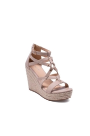 Refresh Wedged Espadrille Sandal - Front cropped