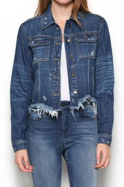 Hidden Jeans Reg Fitted Jacket - Product Mini Image