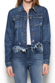 Hidden Jeans Rebel Fitted Jacket - Product Mini Image