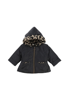 1+ in the family REGINA 1+ In The Family Black Leopard Jacket - Product List Image
