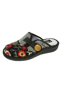 Shoptiques Product: Embroidered Slide Slipper