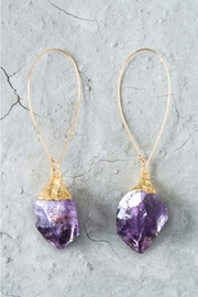 Regina Andrew Evelyn Amethyst Earrings - Product Mini Image