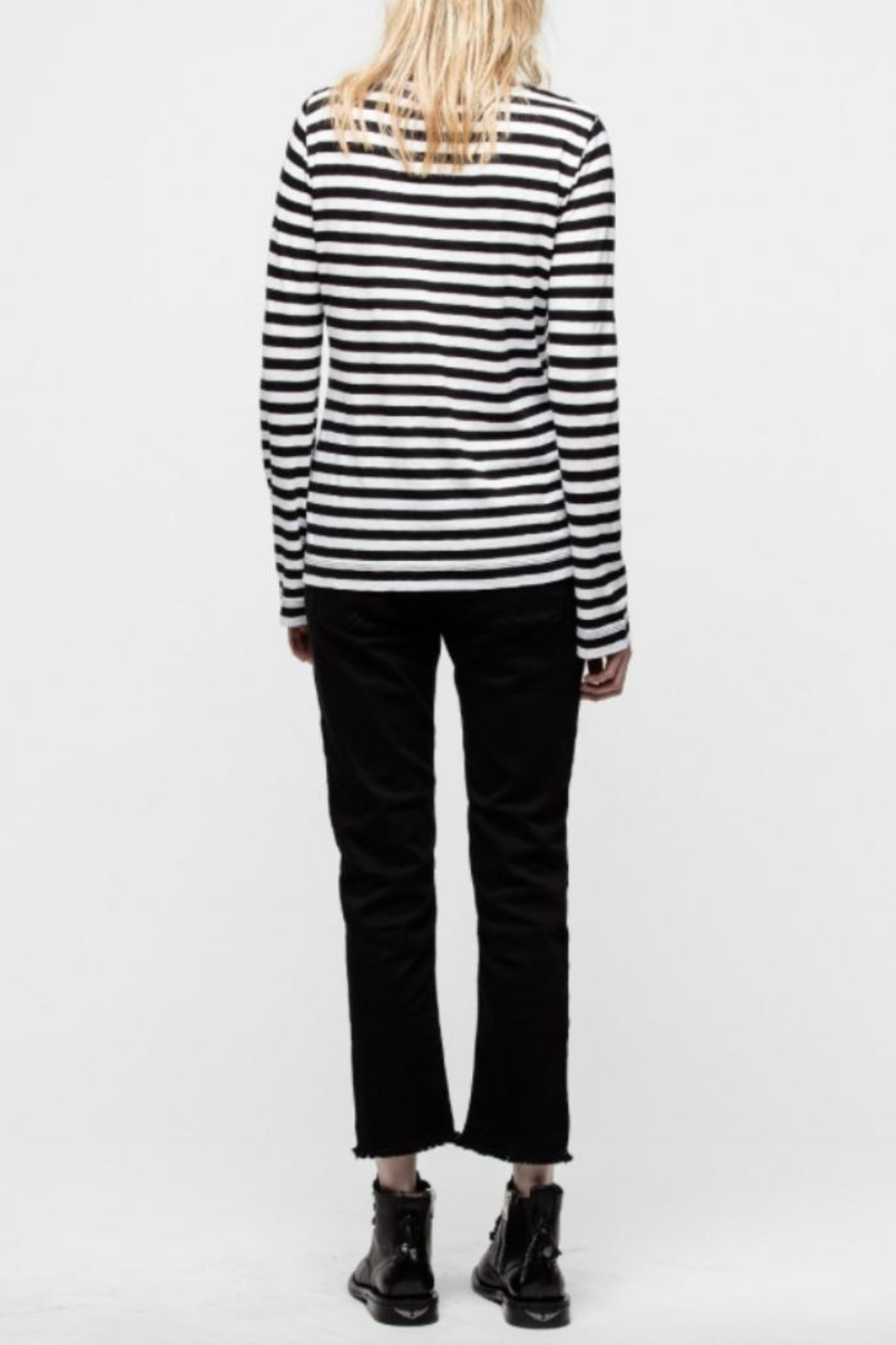 Zadig & Voltaire Regy Stripes Shirt - Side Cropped Image