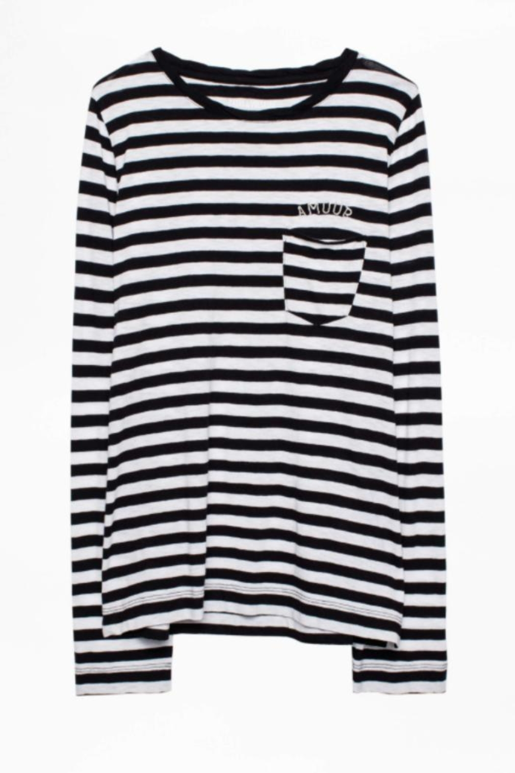 Zadig & Voltaire Regy Stripes Shirt - Back Cropped Image