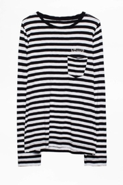 Zadig & Voltaire Regy Stripes Shirt - Back cropped
