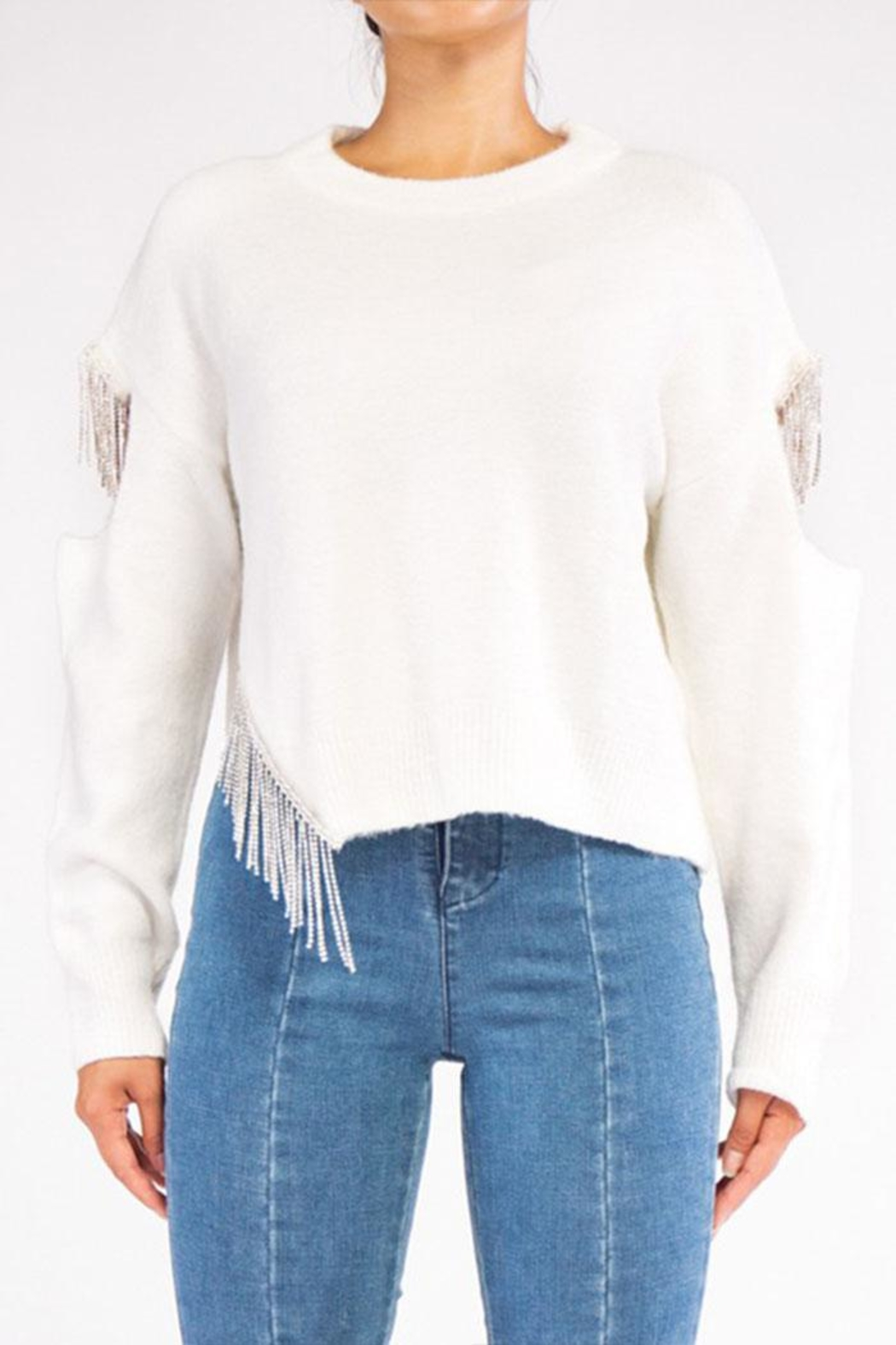 Rehab Cut Out Sweater - Main Image