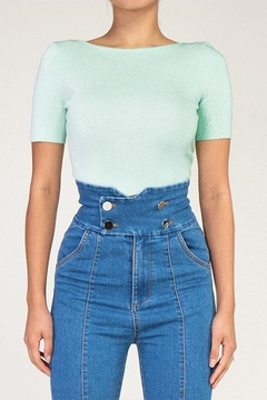 Rehab Cutout Crop Top - Product List Image