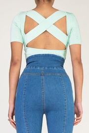 Rehab Cutout Crop Top - Other