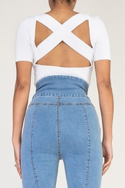 Rehab Cutout Crop Top - Side cropped